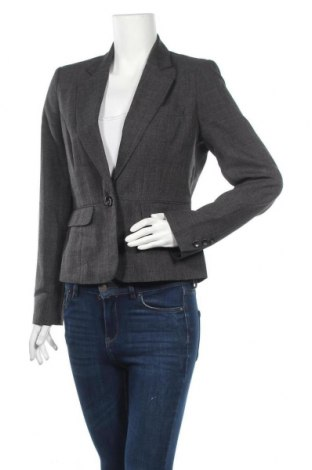 Дамско сако F&F, Размер M, Цвят Сив, Полиестер, Цена 26,93лв.