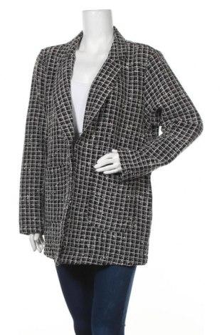 Дамско сако F&F, Размер XL, Цвят Черен, 75% акрил, 20% полиестер, 5% памук, Цена 26,25лв.
