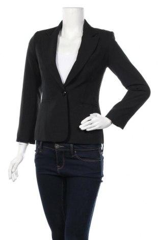 Дамско сако F&F, Размер XS, Цвят Черен, Полиестер, Цена 25,94лв.