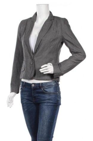 Дамско сако French Connection, Размер S, Цвят Сив, 55% лен, 45% памук, Цена 62,16лв.
