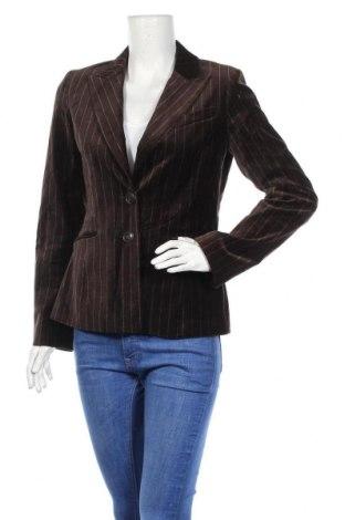 Дамско сако H&M, Размер M, Цвят Кафяв, 97% памук, 1% полиестер, 2% еластан, Цена 7,35лв.