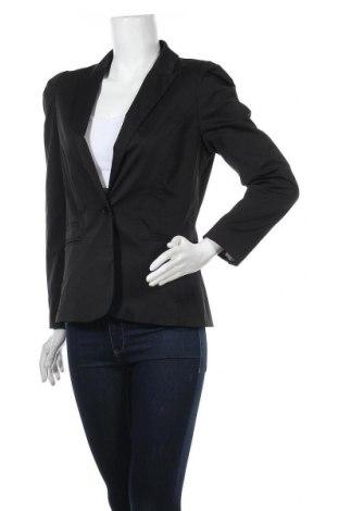 Дамско сако H&M, Размер M, Цвят Черен, 58% полиестер, 39% памук, 3% еластан, Цена 13,86лв.