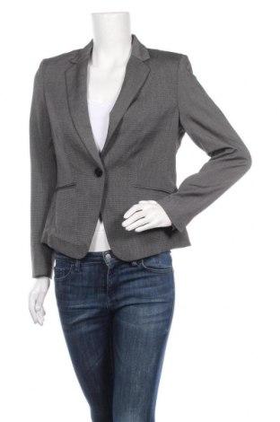 Дамско сако H&M, Размер M, Цвят Сив, 73% полиестер, 22% вискоза, 5% еластан, Цена 10,29лв.