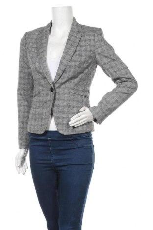 Дамско сако H&M, Размер M, Цвят Сив, 64% полиестер, 33% вискоза, 3% еластан, Цена 13,86лв.