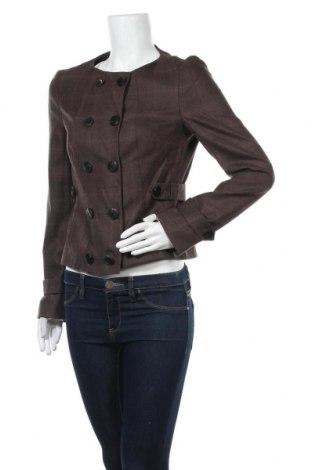 Дамско сако Hugo Boss, Размер M, Цвят Кафяв, Вълна, Цена 64,26лв.