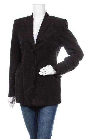 Дамско сако Hugo Boss, Размер L, Цвят Кафяв, 91% памук, 7% кашмир, 2% еластан, Цена 48,76лв.