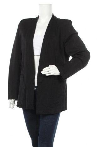 Дамско сако Katies, Размер XL, Цвят Черен, 62% вискоза, 33% полиамид, 5% еластан, Цена 14,44лв.