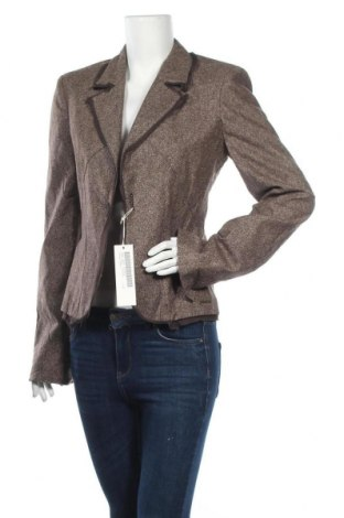 Γυναικείο σακάκι Laura Biagiotti, Μέγεθος L, Χρώμα Καφέ, 50% μαλλί, 30% πολυεστέρας, 20% βαμβάκι, Τιμή 54,03€