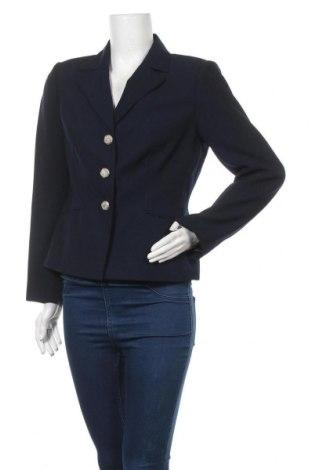 Дамско сако Liz Claiborne, Размер M, Цвят Син, Полиестер, Цена 32,13лв.