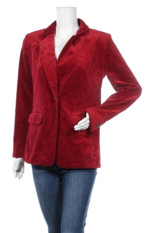 Дамско сако Loft, Размер M, Цвят Червен, 98% памук, 2% еластан, Цена 42,74лв.