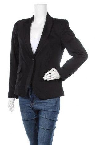 Γυναικείο σακάκι MOS MOSH, Μέγεθος L, Χρώμα Μαύρο, 53% βαμβάκι, 44% πολυαμίδη, 3% ελαστάνη, Τιμή 44,42€