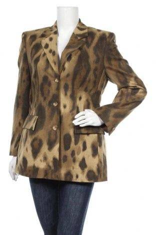 Дамско сако Marc Cain, Размер M, Цвят Зелен, 90% вълна, 10% кашмир, Цена 117,60лв.