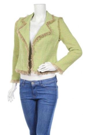 Дамско сако Marc Cain, Размер S, Цвят Зелен, 75% памук, 24% полиамид, 1% еластан, Цена 91,77лв.