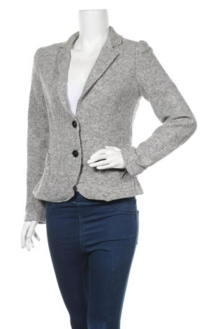 Дамско сако Marc Cain, Размер M, Цвят Сив, 56% вълна, 24% полиамид, 20% памук, Цена 96,60лв.