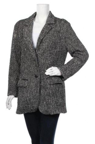 Дамско палто Marc Cain Sports, Размер XL, Цвят Черен, 43% памук, 17% полиестер, 12% вълна от алпака, 10% вълна, 4% полиамид, 1% еластан, Цена 82,00лв.