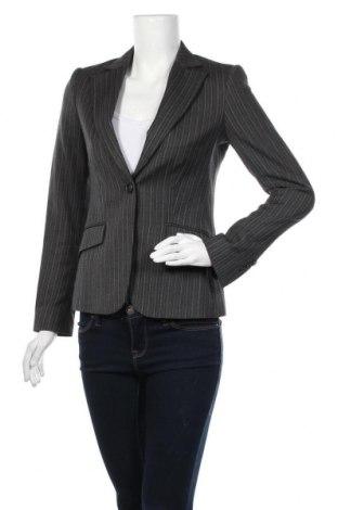 Дамско сако Massimo Dutti, Размер M, Цвят Сив, 96% вълна, 4% еластан, Цена 31,50лв.