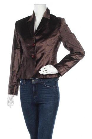 Дамско сако Miou, Размер S, Цвят Кафяв, 57% памук, 43% модал, Цена 12,29лв.