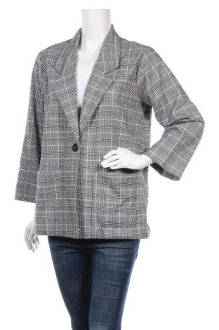 Дамско сако Monki, Размер S, Цвят Многоцветен, 64% полиестер, 34% вискоза, 2% еластан, Цена 7,09лв.