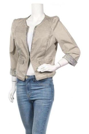 Дамско сако Nile, Размер L, Цвят Сив, 98% памук, 2% еластан, Цена 17,64лв.