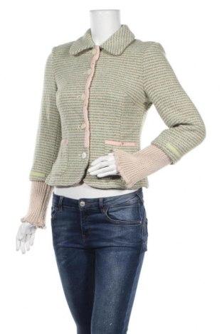 Γυναικείο σακάκι Noa Noa, Μέγεθος S, Χρώμα Πράσινο, 50% μαλλί, 33% βισκόζη, 17%ακρυλικό, Τιμή 26,53€
