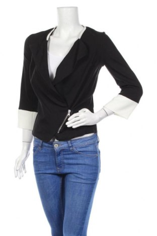 Γυναικείο σακάκι Nuna Lie, Μέγεθος S, Χρώμα Μαύρο, 75% βισκόζη, 20% πολυαμίδη, 5% ελαστάνη, Τιμή 16,24€