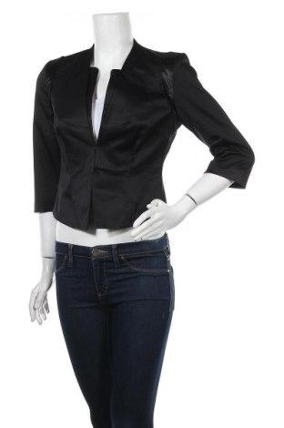 Дамско сако Orsay, Размер M, Цвят Черен, 49% полиестер, 48% памук, 3% еластан, Цена 11,76лв.