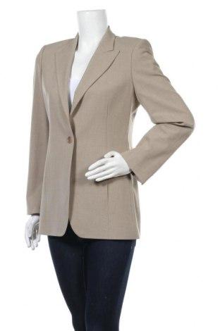 Дамско сако Per Una By Marks & Spencer, Размер M, Цвят Бежов, 65% полиестер, 31% вискоза, 4% еластан, Цена 20,16лв.