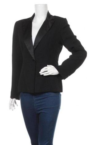 Дамско сако Rockmans, Размер M, Цвят Черен, Полиестер, Цена 10,66лв.