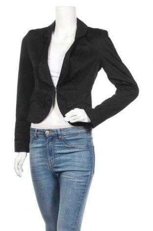 Дамско сако S.Oliver, Размер XS, Цвят Черен, 100% полиестер, Цена 11,39лв.