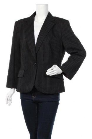 Дамско сако S.Oliver, Размер XL, Цвят Черен, 67% полиестер, 31% вискоза, 2% еластан, Цена 15,12лв.