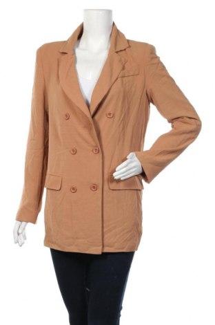 Дамско сако SNDYS, Размер S, Цвят Кафяв, 95% полиестер, 5% еластан, Цена 14,49лв.