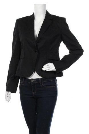 Дамско сако Sandro Ferrone, Размер L, Цвят Черен, 97% памук, 3% еластан, Цена 15,20лв.