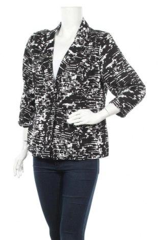 Дамско сако Suzanne Grae, Размер M, Цвят Черен, Лен, вискоза, Цена 20,16лв.
