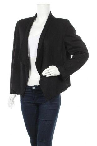 Дамско сако Suzanne Grae, Размер L, Цвят Черен, 65% вискоза, 30% полиамид, 5% еластан, Цена 7,35лв.