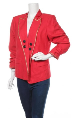 Γυναικείο σακάκι Tahari, Μέγεθος XL, Χρώμα Κόκκινο, 64% πολυεστέρας, 34% βισκόζη, 2% ελαστάνη, Τιμή 54,29€