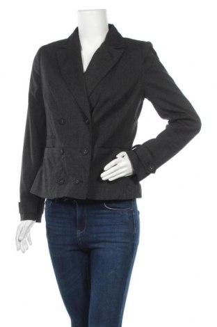 Дамско сако Target, Размер L, Цвят Сив, Полиестер, вискоза, еластан, Цена 5,51лв.