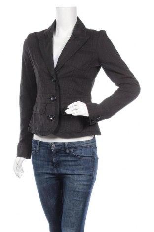 Дамско сако Tom Tailor, Размер S, Цвят Сив, 58% вискоза, 25% памук, 17% полиестер, Цена 20,58лв.