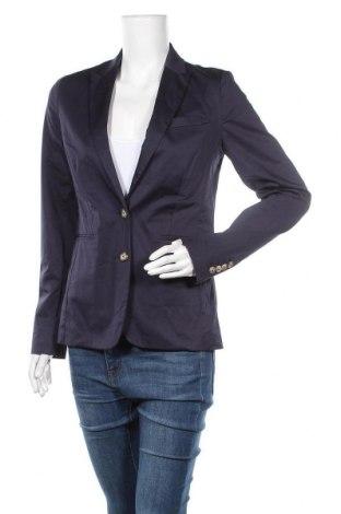 Дамско сако Tommy Hilfiger, Размер S, Цвят Син, 98% памук, 2% еластан, Цена 85,47лв.