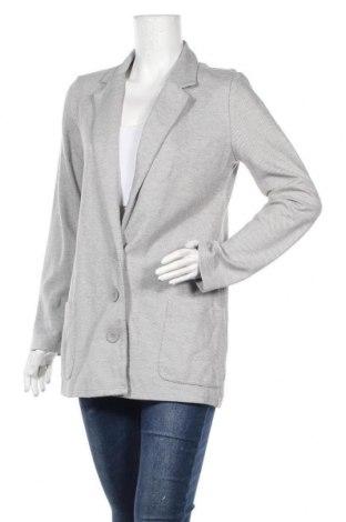 Дамско сако Trouve, Размер S, Цвят Сив, 66% памук, 34% полиестер, Цена 24,57лв.