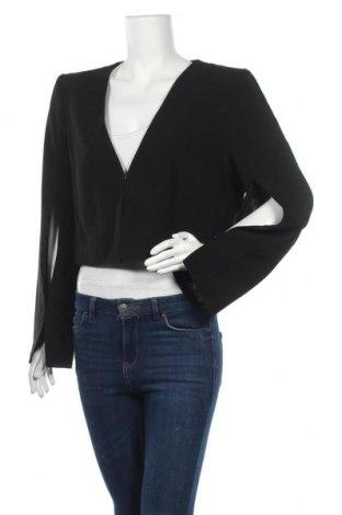 Γυναικείο σακάκι Veronika Maine, Μέγεθος XL, Χρώμα Μαύρο, 78% ασετάτ, 22% πολυεστέρας, Τιμή 58,19€