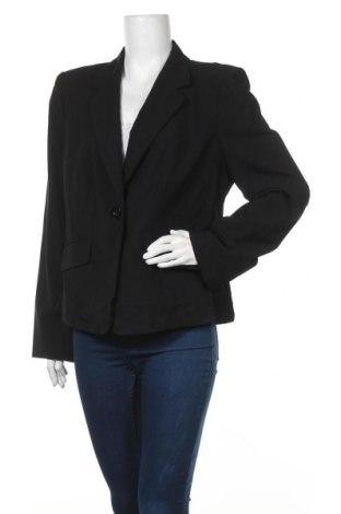 Γυναικείο σακάκι Veronika Maine, Μέγεθος XL, Χρώμα Μαύρο, 94% μαλλί, 6% ελαστάνη, Τιμή 28,58€