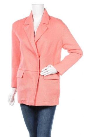 Дамско сако Zara, Размер S, Цвят Оранжев, Памук, Цена 24,36лв.