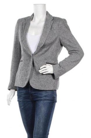 Дамско сако Zara, Размер L, Цвят Сив, 95% полиестер, 5% еластан, Цена 35,70лв.