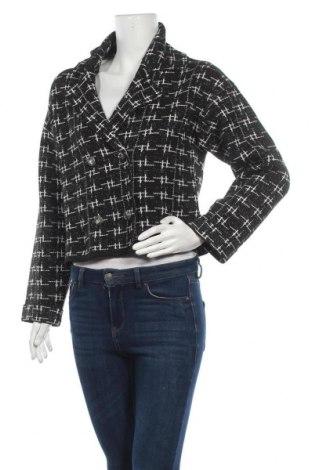 Дамско сако Zara, Размер S, Цвят Черен, 99% полиестер, 1% еластан, Цена 26,70лв.