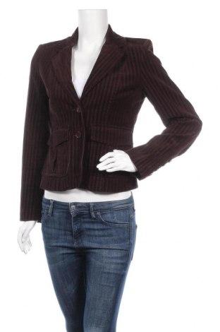 Дамско сако Zero, Размер S, Цвят Кафяв, 97% памук, 3% еластан, Цена 7,35лв.