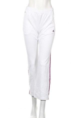 Γυναικείο αθλητικό παντελόνι Adidas, Μέγεθος S, Χρώμα Λευκό, Τιμή 37,67€