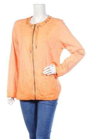 Γυναικεία αθλητική ζακέτα Kenny S., Μέγεθος XL, Χρώμα Πορτοκαλί, Βαμβάκι, Τιμή 13,58€