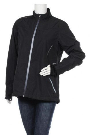 Дамско спортно яке Active By Tchibo, Размер XL, Цвят Черен, Полиестер, Цена 44,10лв.