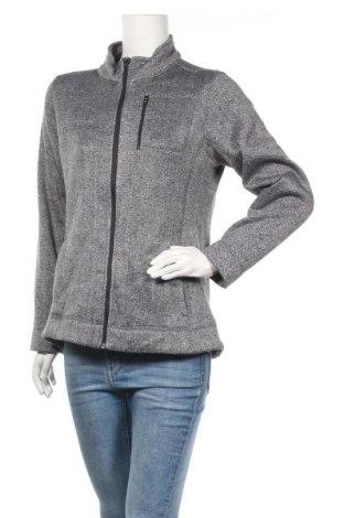 Γυναικείο μπουφάν αθλητικό MARC NEW YORK, Μέγεθος L, Χρώμα Γκρί, Πολυεστέρας, Τιμή 10,00€