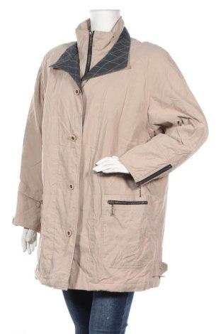 Дамско яке, Размер XL, Цвят Бежов, 70% полиестер, 30% полиамид, Цена 16,90лв.